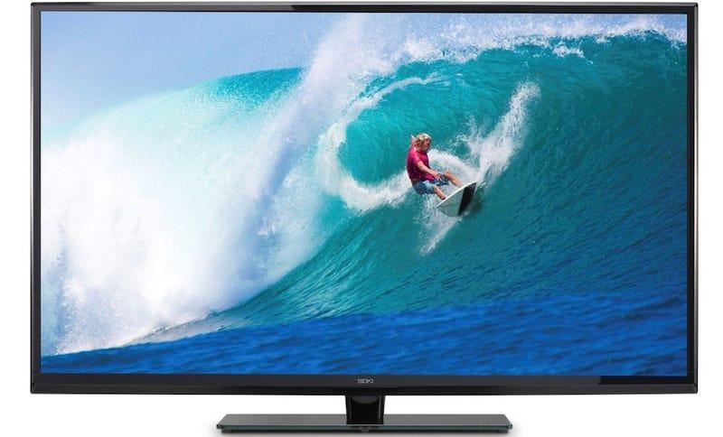 Illustration for article titled Moneysaver One-Shot: A 4K TV For $966