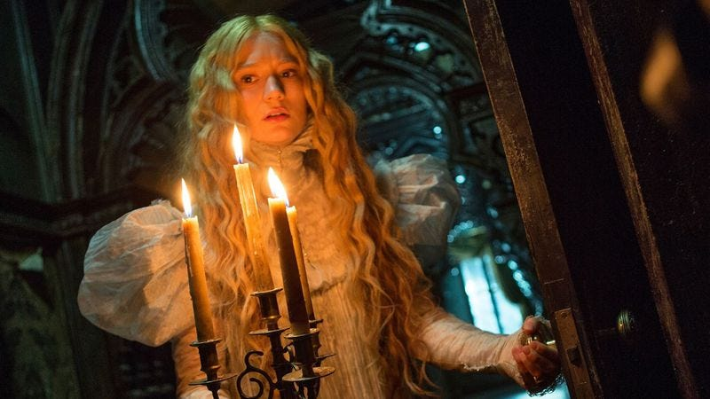 Illustration for article titled Guillermo Del Toro's Crimson Peak is gorgeous, tragic, and not very scary