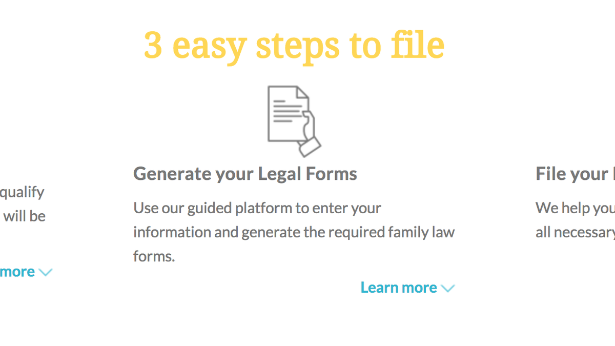This Web App Files Your Divorce Papers For You