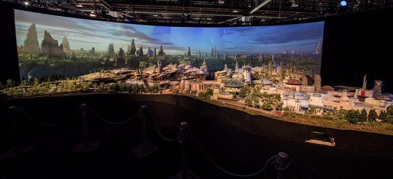 Star Wars Land. Image: Disney