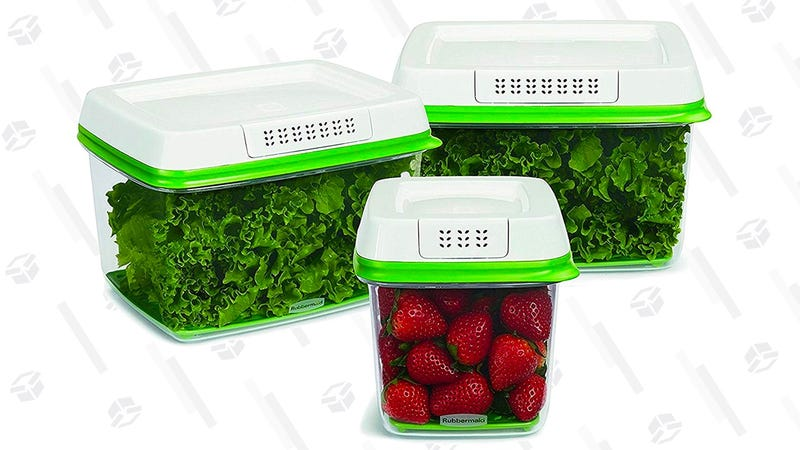 Rubbermaid FreshWorks Produce Saver Food Storage Containers | $20 | Amazon  Graphic: Erica Offutt