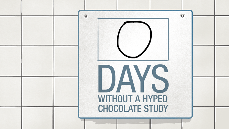 Illustration for article titled Once Again, The Media Is Overhyping The Health Benefits Of Chocolate