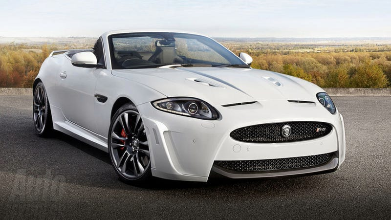 Illustration for article titled Jaguar XKR-S Convertible: This is it