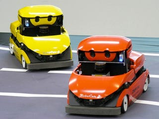 Illustration for article titled ZMP RoboCar Helps Scientists Research Automotive Autonomy, Adorability
