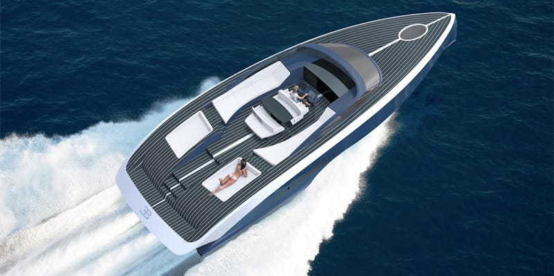 Illustration for article titled The $3,500,000 Bugatti Boat Is A Dingy In The Palmer Johnson Lineup