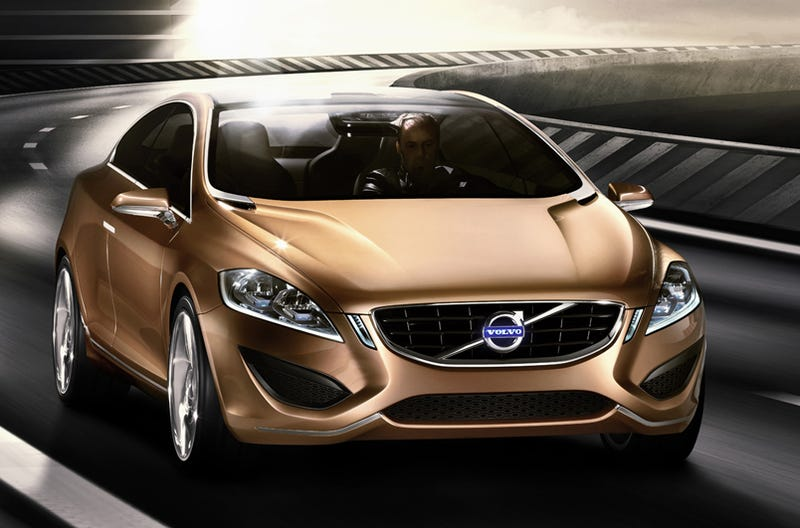 Illustration for article titled Volvo S60 Concept: A Preview Of The 2010 Volvo S60