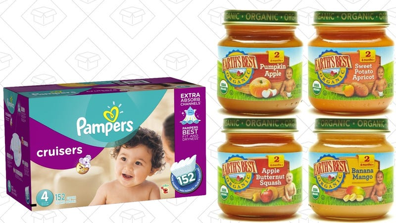 20% off Diaper Subscriptions | 20% off Baby Food Subscriptions - Prime members only