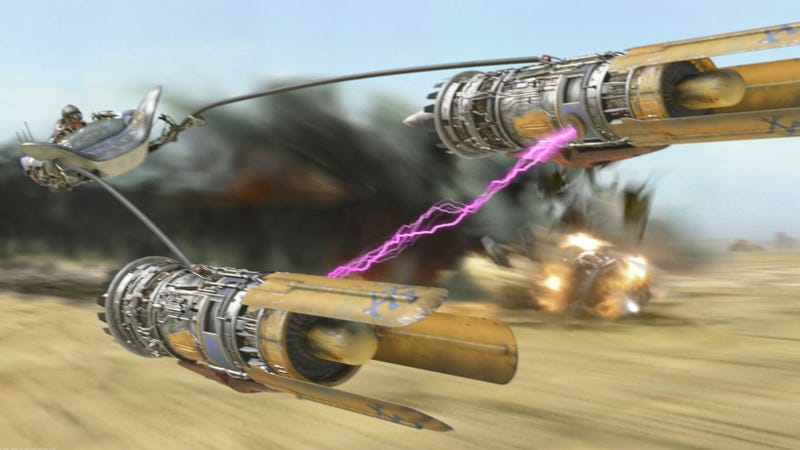 Illustration for article titled Comment of the Day: Now This Is Podracing Edition