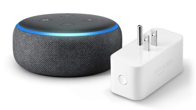 Echo Dot + enchufe inteligente de Amazon | $40 | AmazonGráfico: Shep McAllister