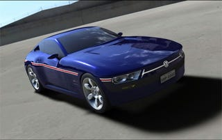 Illustration for article titled Volkswagen SP2 Design Concept Modernizes 70s Brazilian Coupe