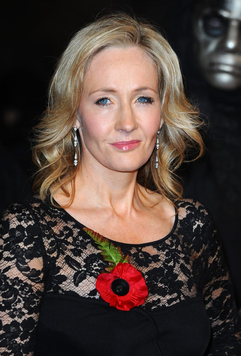J.K. Rowling Anthony Harvey/Getty Images