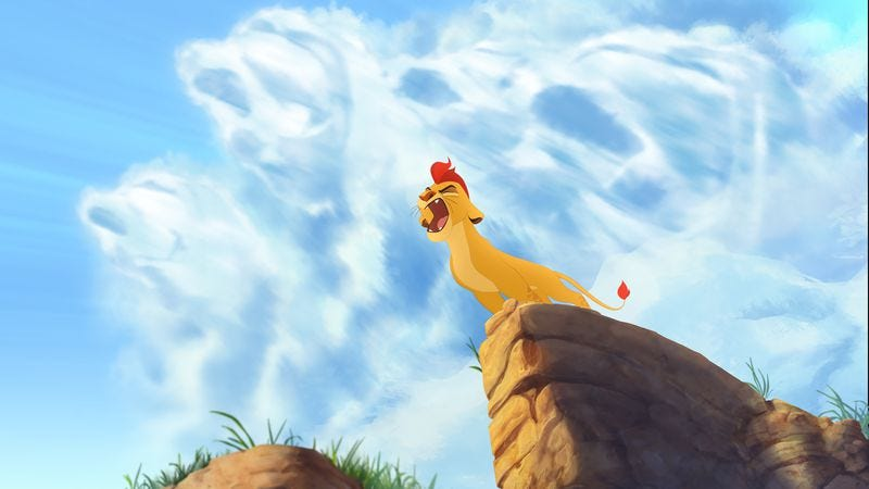 Illustration for article titled The Lion Guard may be Lion King fan-fiction, but it's also well-animated, old-school charm