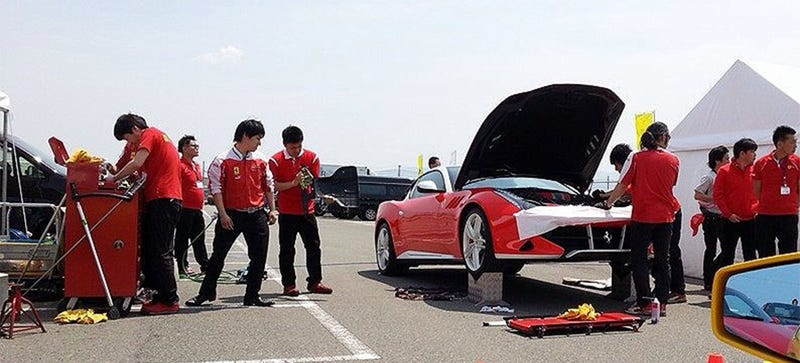 Illustration for article titled This Is Probably The Special One-Off Ferrari FF Coupe In Japan