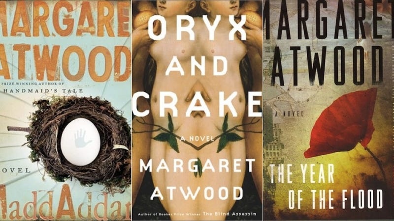 margaret atwood s apocalypse trilogy dares to imagine gmo utopia digest the final book in margaret atwood s end of the world trilogy maddaddam now it s time to look at all three novels starting oryx and crake