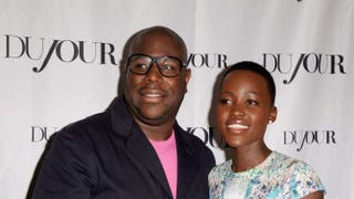 12 Years a Slave director Steve McQueen and actress Lupita Nyong'oMark Sullivan/Getty Images for DuJour Magazine