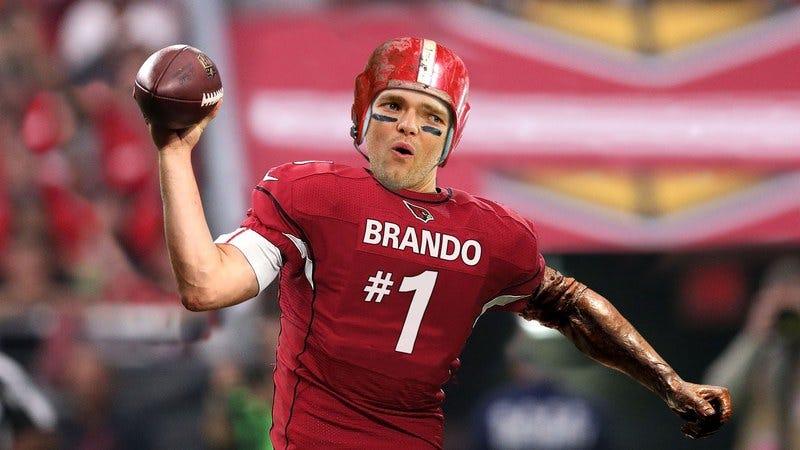 A bootleg Tom Brady playing for the Arizona Cardinals.