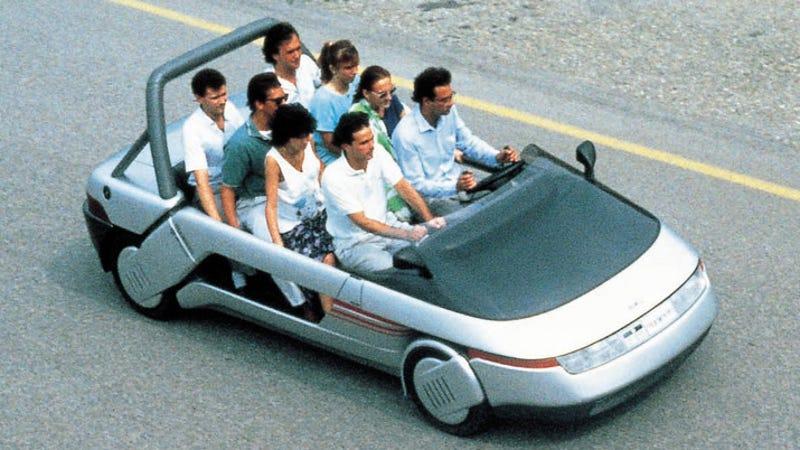 the ten most ridiculous concept car interiors. Black Bedroom Furniture Sets. Home Design Ideas