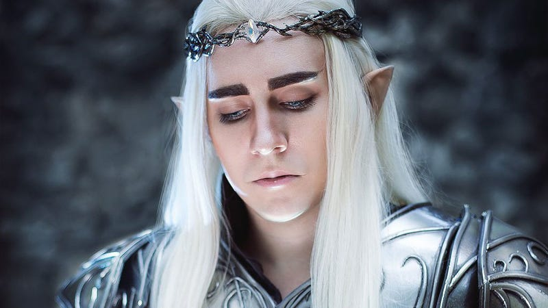 Illustration for article titled Not Sure If Cosplayer Or Actual Elven King