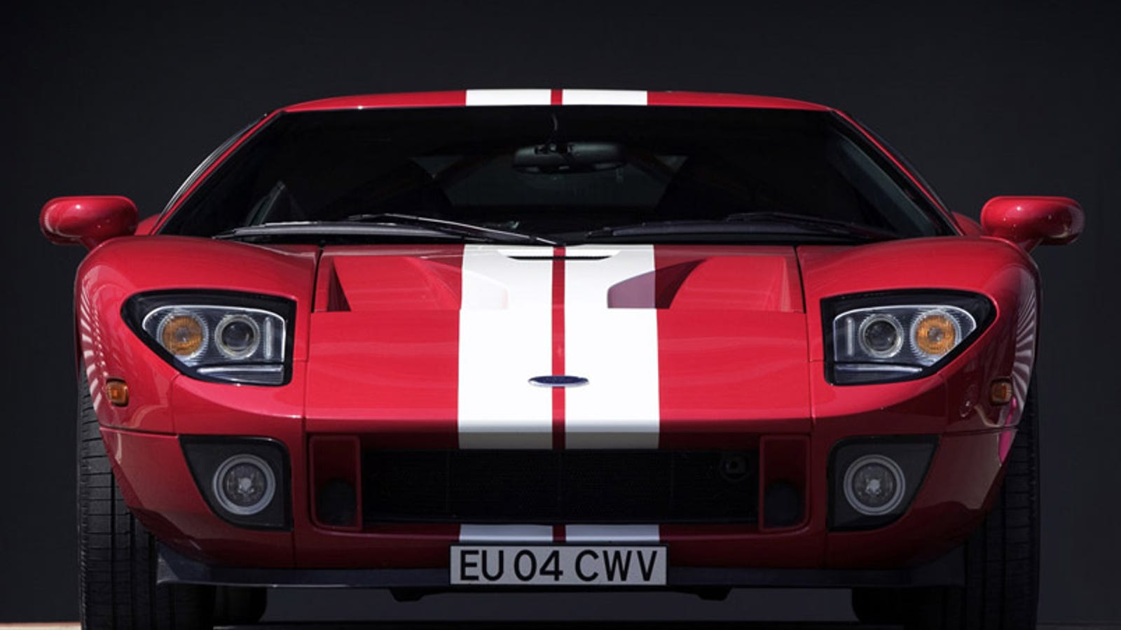 The Ford Gt Has A