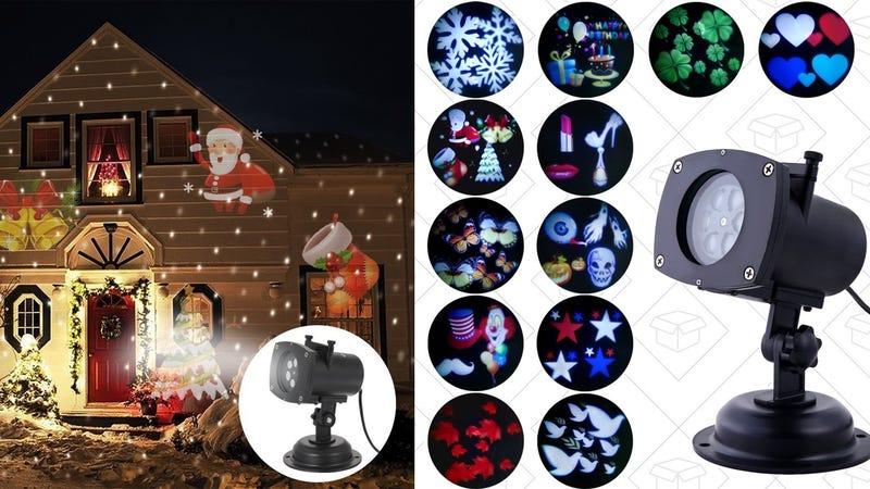 Oxyled LED projector   $30   Amazon   Promo code OxyPLOMN