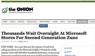 Illustration for article titled Gizmodo Sues The Onion for Libel, Asks Drew Curtis for Legal Advice