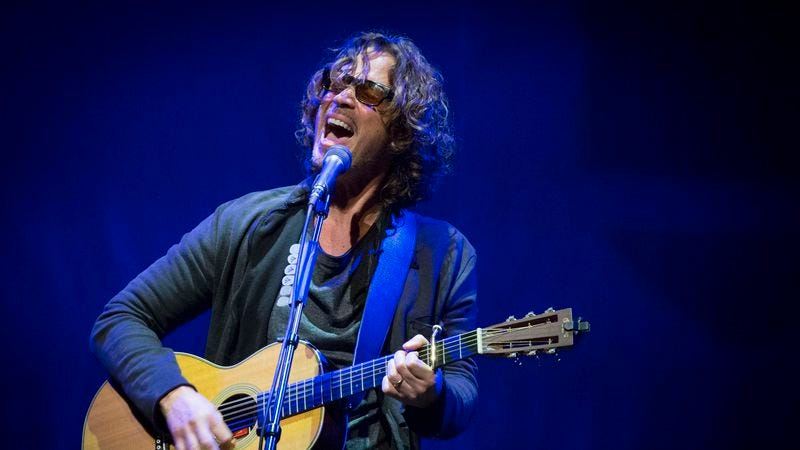 Chris Cornell, of Soundgarden, Audioslave, and Temple Of The Dog. (Photo: Getty Images)