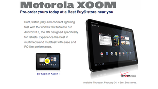 Illustration for article titled Motorola Xoom Is $800, Comes Out February 24th