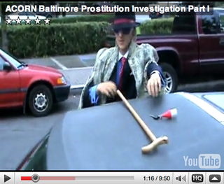 James O'Keefe decked out for his sting on ACORN