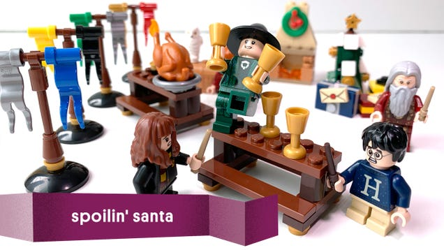 Spoilin  Santa: What s Inside the LEGO Harry Potter Advent Calendar?