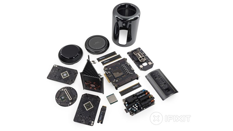 Illustration for article titled Mac Pro Teardown: An Apple Rig You Can Actually Tinker With