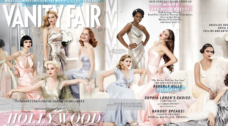 Illustration for article titled Vanity Fair's Hollywood Issue Pushes Actresses Of Color Aside (Again!)
