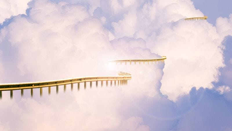 Illustration for article titled Heaven Adds Guardrail After Fifth Angel Plunges Over Edge