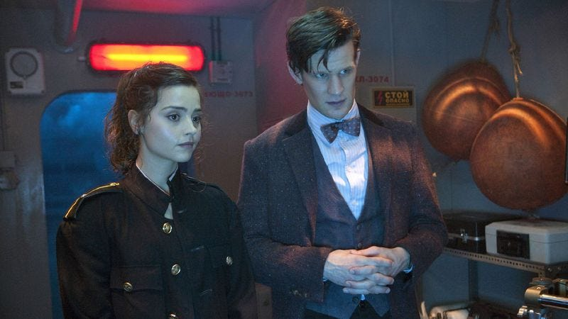 """Illustration for article titled Doctor Who: """"Cold War"""""""