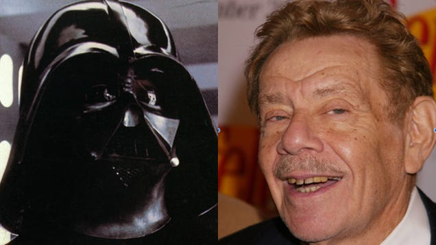 Darth Vader is a different kind of menacing with Frank Constanza's voice
