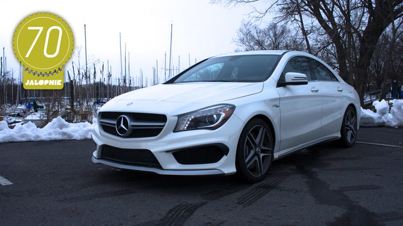 2014 Mercedes Benz Cla45 Amg The Jalopnik Review
