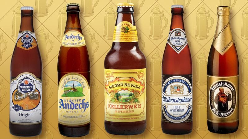 Wander into the Bavarian wilderness with hefeweizen