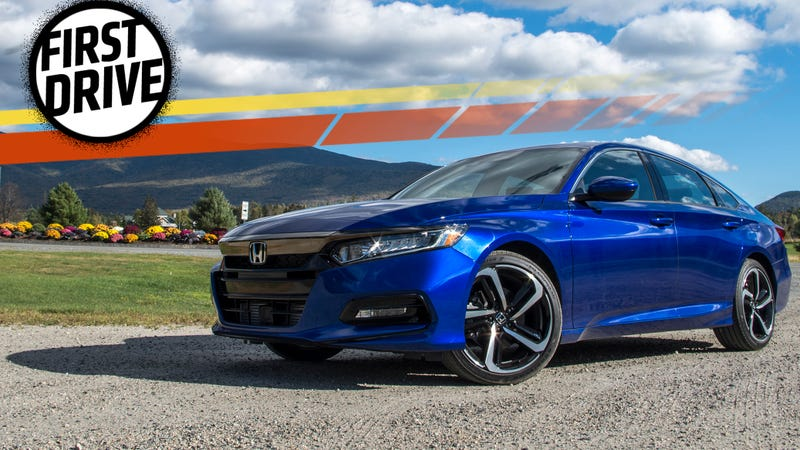The 2018 Honda Accord Is Just A Damn Good Car