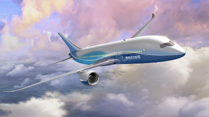 Illustration for article titled Boeing took the 787 Dreamliner on a record-setting 10,710-mile flight