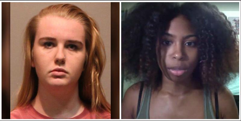 "Brianna Brochu (West Hartford, Conn., Police Department); Chennel ""Jazzy"" Rowe (Jazzy Rowe via Facebook)"