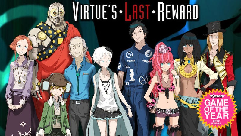 Illustration for article titled Why Zero Escape: Virtue's Last Reward Should Be Game Of The Year