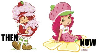 Illustration for article titled Berry Disturbing Makeover for Strawberry Shortcake