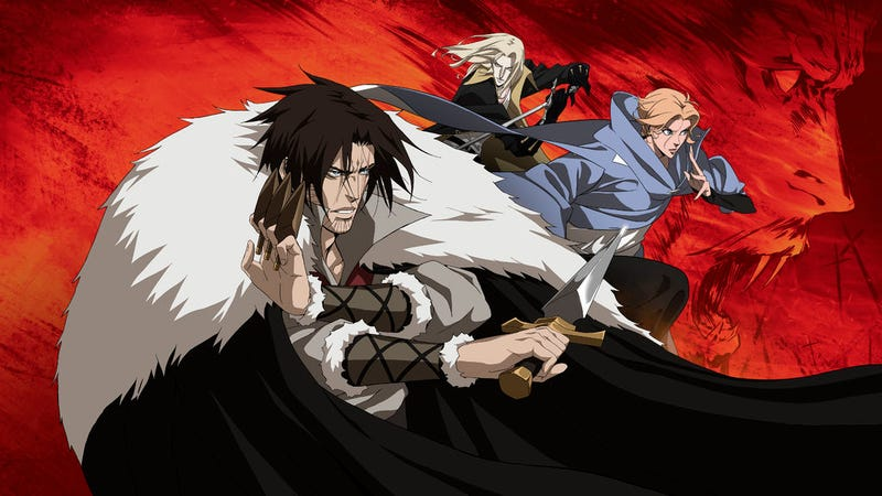 Illustration for article titled Netflix's Castlevania is Bloody Awesome