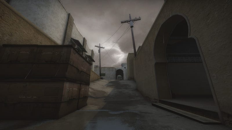 Illustration for article titled Changing Weather Puts New Spin On Classic Counter-Strike Maps