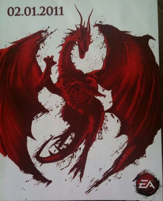 Illustration for article titled Is This The Release Date For Dragon Age 2?