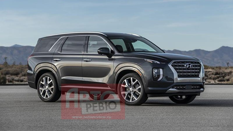 The 2020 Hyundai Palisade Maybe Image Via Auto Review