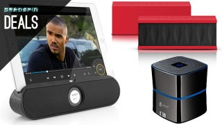 Illustration for article titled Bluetooth Speakers Under $30, Smart Home Hub, and More Deals