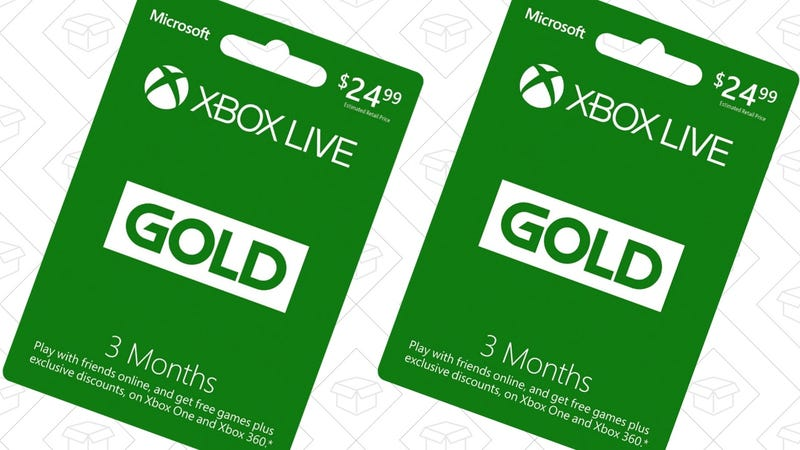 how to just buy one month of xbox live