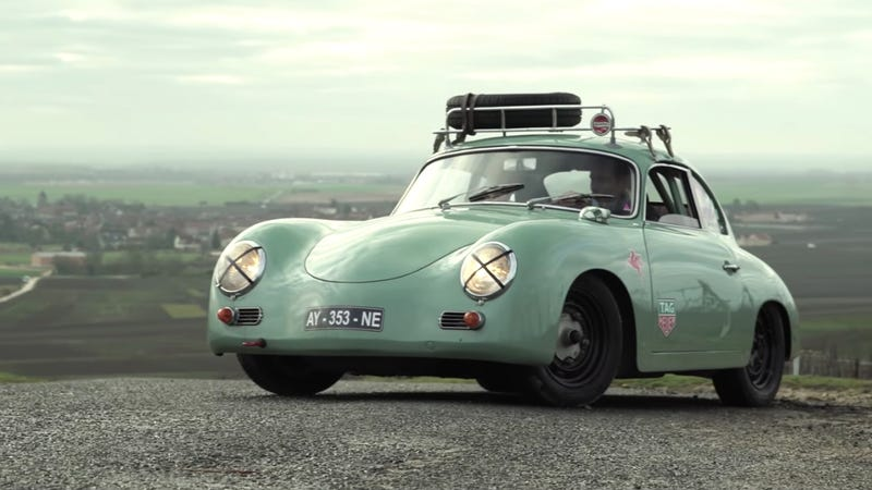 Illustration for article titled This Dapper Porsche 356 Is My New Favorite Car Restoration Story