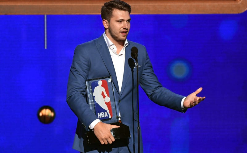 Illustration for article titled Luka Dončić, True To Form, Dominates Rookie Of The Year Voting