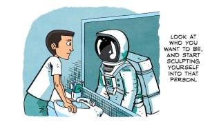 Illustration for article titled Words to live by: Chris Hadfield's advice to aspiring astronauts